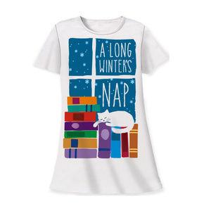 NWT A Long Winter's Nap Sleep Shirt